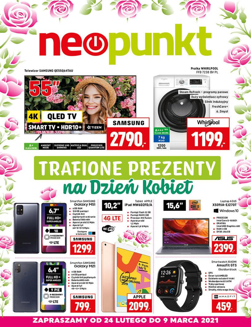 Gazetka promocyjna NEOPUNKT - ważna od 24. 02. 2021 do 09. 03. 2021
