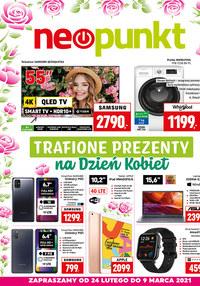 Gazetka promocyjna NEOPUNKT - Prezenty na Dzień Kobiet w Neopunkt