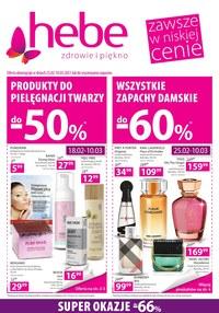 Gazetka promocyjna Hebe - Promocje na Dzień Kobiet w Hebe - ważna do 10-03-2021