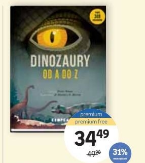 Dinozaury od A do Z Matthew G. Baron niska cena