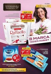 Gazetka promocyjna Spiżarnia Smakosza - Spiżarnia Smakosza - oferta na Dzień Kobiet - ważna do 10-03-2021