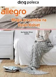 Prezenty na Dzień Kobiet na Allegro