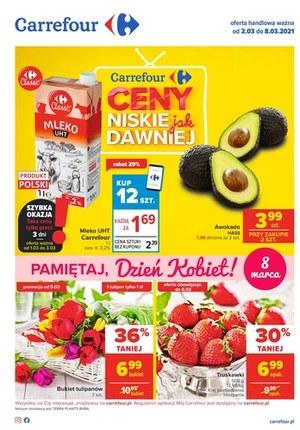 Gazetka promocyjna Carrefour - Dzień Kobiet w Carrefour!