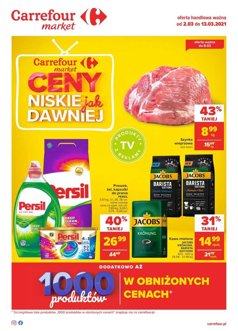 Gazetka promocyjna Carrefour Market - ważna od 02. 03. 2021 do 13. 03. 2021