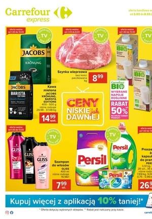 Gazetka promocyjna Carrefour Express - Niskie ceny w Carrefour Express