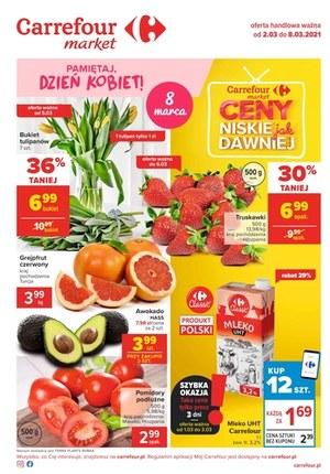 Gazetka promocyjna Carrefour Market - Specjalnie dla kobiet w Carrefour Market!