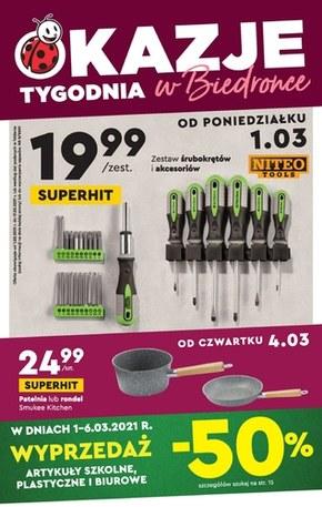 Kultowe produkty w Biedronce