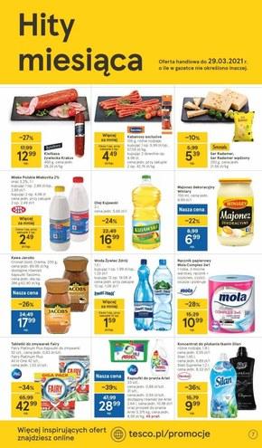 Okazje na Dzień Kobiet w Tesco Supermarket!
