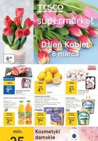 Gazetka promocyjna Tesco Supermarket - Okazje na Dzień Kobiet w Tesco Supermarket! - ważna do 10-03-2021