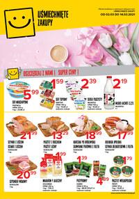 Gazetka promocyjna Uśmiechnięte zakupy - Dzień Kobiet w Uśmiechnięte Zakupy - ważna do 14-03-2021