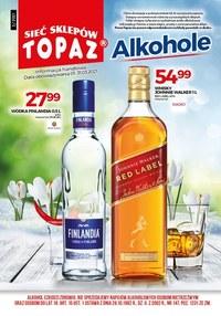 Gazetka promocyjna Topaz - Topaz - oferta z alkoholem - ważna do 31-03-2021