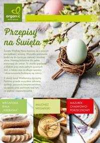 Gazetka promocyjna Organic - Przepisy na Święta od Organic - ważna do 03-04-2021