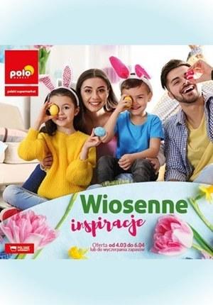 Gazetka promocyjna POLOmarket - Wiosenne inspiracje w Polomarket!