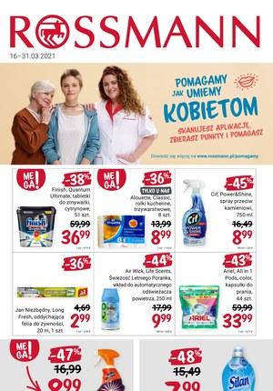 Gazetka promocyjna Rossmann - Rossmann wspiera kobiety