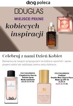 Gazetka promocyjna Douglas - Kosmetyczne inspiracje w Douglas!