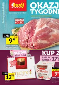 Gazetka promocyjna Twój Market - Okazje tygodnia w Twój Market!  - ważna do 14-03-2021