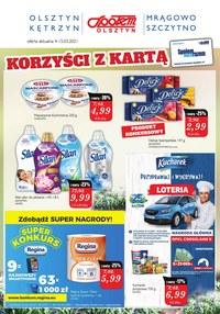 Gazetka promocyjna Społem Olsztyn - Korzyści z kartą w Społem Olsztyn  - ważna do 15-03-2021