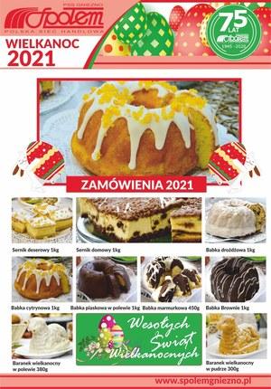 Gazetka promocyjna PSS Społem Gniezno - Wielkanocne ciasta w PSS Społem Gniezno
