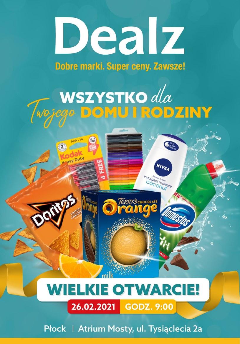 Gazetka promocyjna Dealz - ważna od 26. 02. 2021 do 12. 03. 2021
