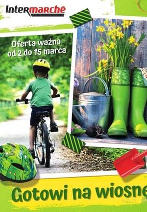 Gazetka promocyjna Intermarche Super - Katalog wiosenny Intermarche!