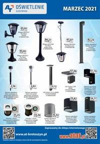 Gazetka promocyjna At - At - oświetlenie i elektryka - ważna do 31-03-2021