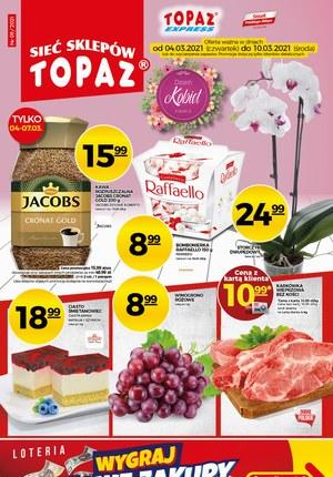 Gazetka promocyjna Topaz - Oferta promocyjna w Topaz