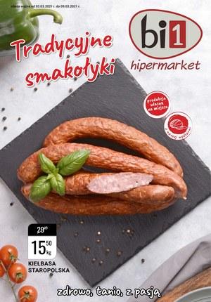 Gazetka promocyjna bi1 - Tradycyjne smakołyki z bi1
