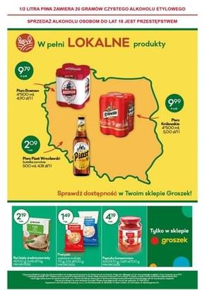 Lokalne produkty tylko w Groszku