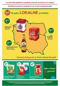 Gazetka promocyjna Groszek  - Lokalne produkty tylko w Groszku