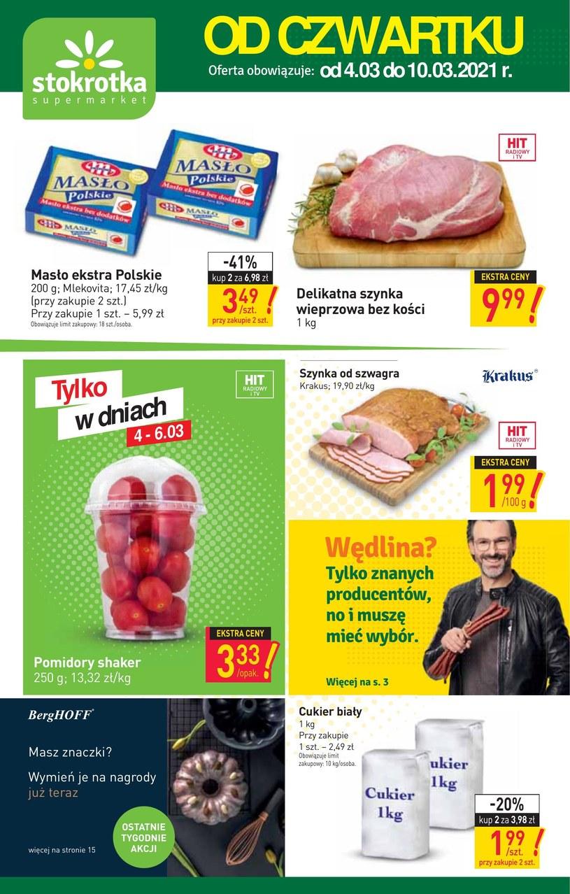 Gazetka promocyjna Stokrotka Supermarket - ważna od 04. 03. 2021 do 10. 03. 2021