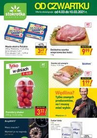 Gazetka promocyjna Stokrotka Supermarket - Strokrotka Supermarket oferta promocyjna - ważna do 10-03-2021