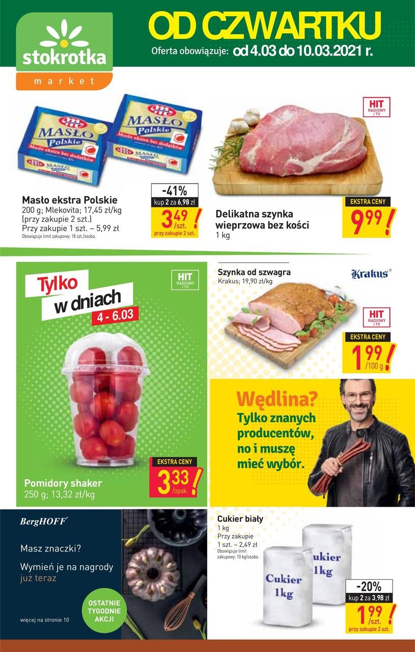 Gazetka promocyjna Stokrotka Market - ważna od 04. 03. 2021 do 10. 03. 2021