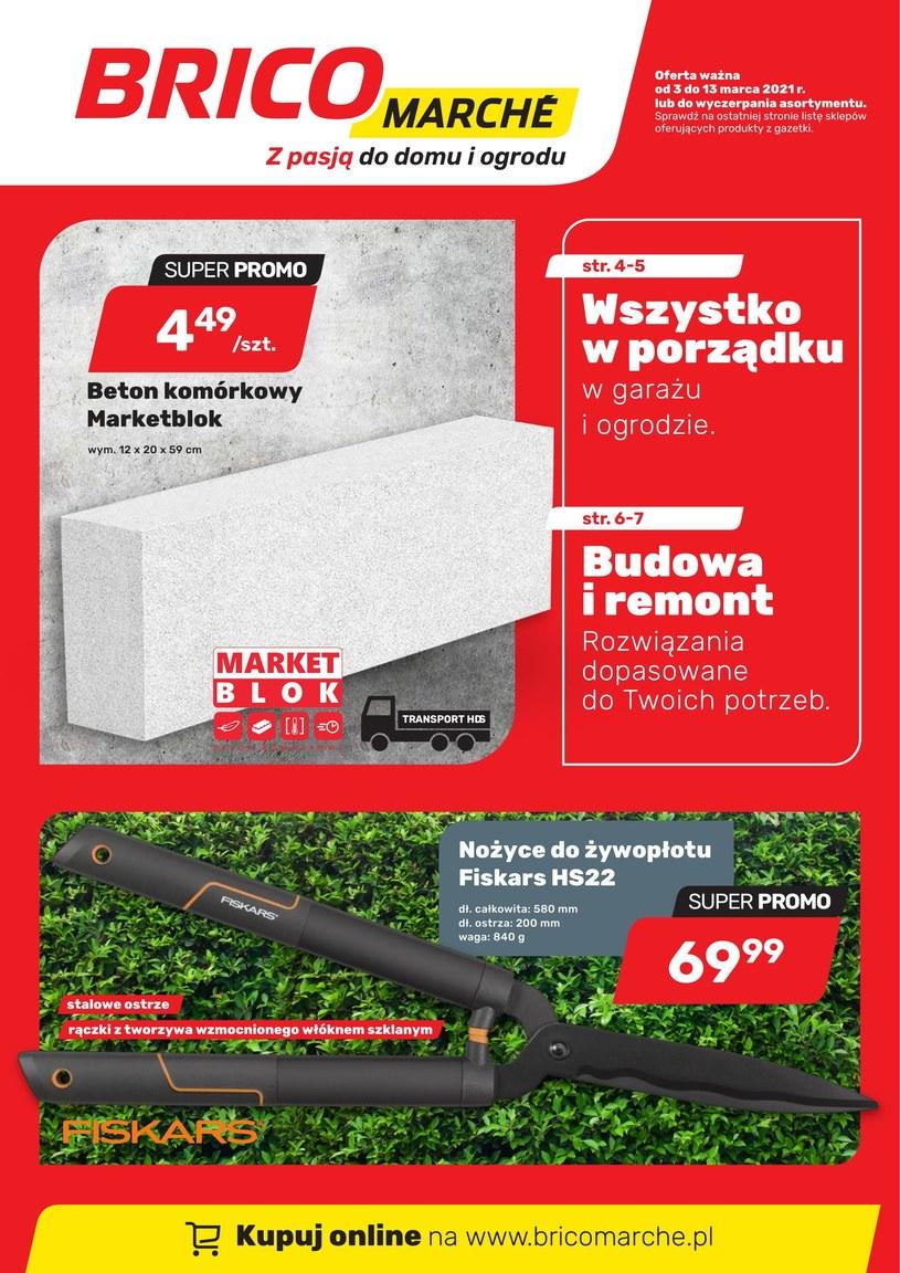 Gazetka promocyjna Bricomarche - ważna od 03. 03. 2021 do 13. 03. 2021