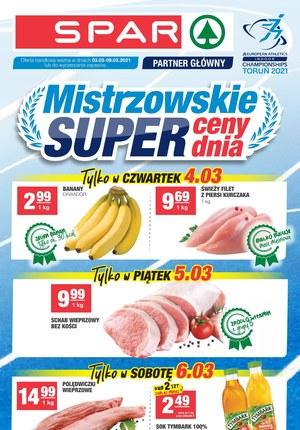 Gazetka promocyjna SPAR - Mistrzowskie super ceny w SPAR