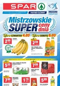 Gazetka promocyjna SPAR Express - Mistrzowskie super ceny w SPAR Express - ważna do 09-03-2021