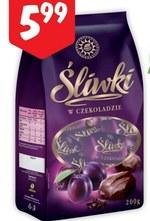 Śliwki w czekoladzie Lewiatan
