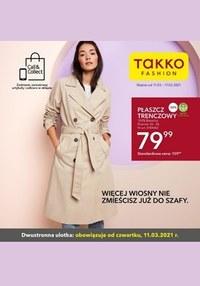 Gazetka promocyjna Takko Fashion - Zabłyśnij wiosną z Takko Fashion - ważna do 17-03-2021