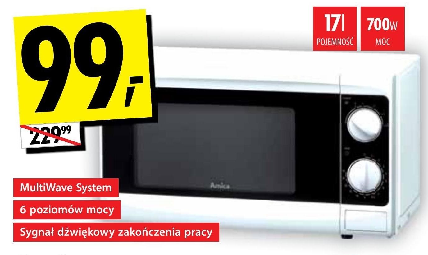 Kuchenka mikrofalowa Amica niska cena