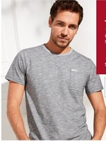 T-shirt męski Takko Fashion