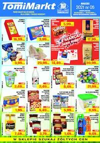 Gazetka promocyjna TomiMarkt - Dla Ciebie i dla rodziny - TomiMarkt - ważna do 18-03-2021