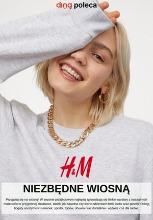 Gazetka promocyjna H&M - Niezbędnik wiosenny w H&M