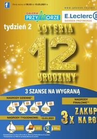 Gazetka promocyjna E.Leclerc - Wygrywaj zakupy z E.Leclerc Gdańsk - ważna do 13-03-2021