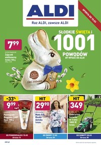 Gazetka promocyjna Aldi - Promocje na Wielkanoc w Aldi!