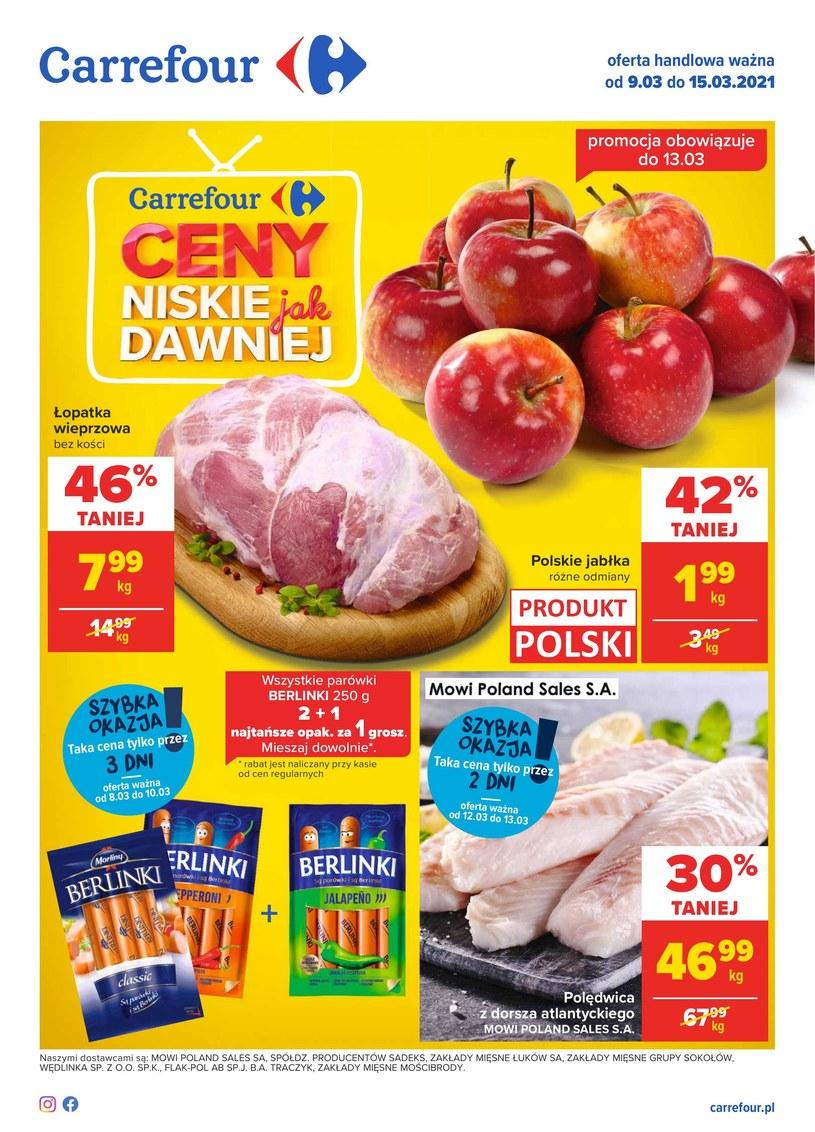 Gazetka promocyjna Carrefour - ważna od 09. 03. 2021 do 15. 03. 2021