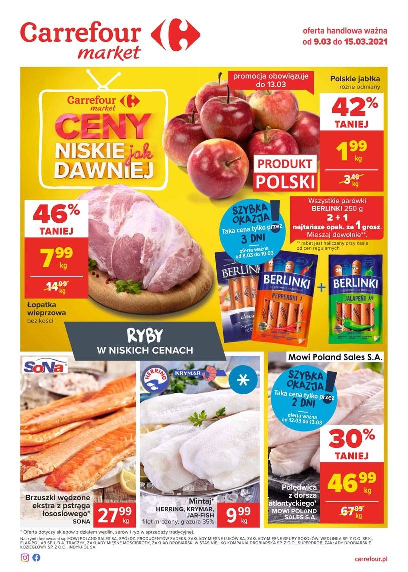 Gazetka promocyjna Carrefour Market - ważna od 09. 03. 2021 do 15. 03. 2021