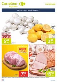 Gazetka promocyjna Carrefour Express - Ceny jak dawniej w Carrefour Express
