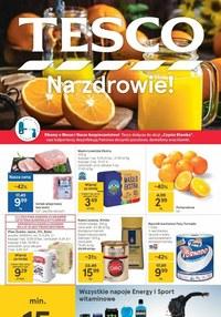Gazetka promocyjna Tesco Centra Handlowe - Popraw zdrowie z Tesco! - ważna do 17-03-2021