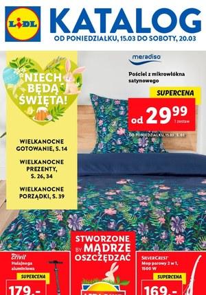 Gazetka promocyjna Lidl - Oferta wielkanocna Lidl!