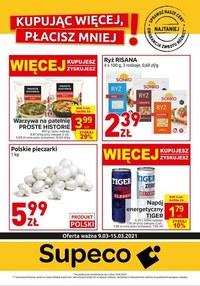 Gazetka promocyjna Supeco - Supeco - nowa oferta - ważna do 15-03-2021