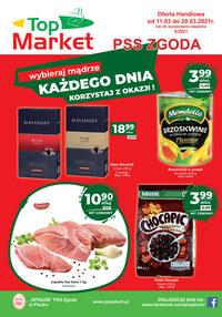 Gazetka promocyjna PSS Zgoda Płock - Każdego dnia okazje w PSS Zgoda Płock - ważna do 20-03-2021